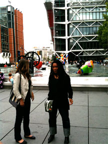 Stephanie Wells & Pamela Z at Centre Pompidou