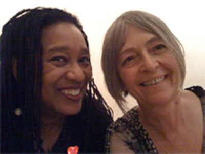 Pamela Z and Joan LaBarbara