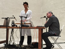 Camille Norment and David Toop