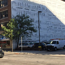 Ravel Mural in Downtown Minneapolis