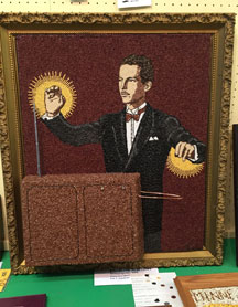 Crop Art: Leon Theremin