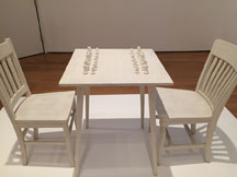 Yoko Ono Chess Table