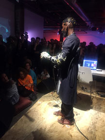 Onyx Ashanti at Red Bull Arts