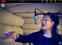 PZ in Sound Booth