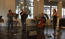 Apollo Chamber Players Rehearsal