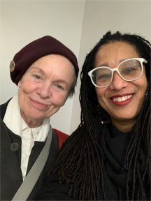 Laurie Anderson and Pamela Z