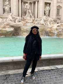 PZ at Trevi Fountain